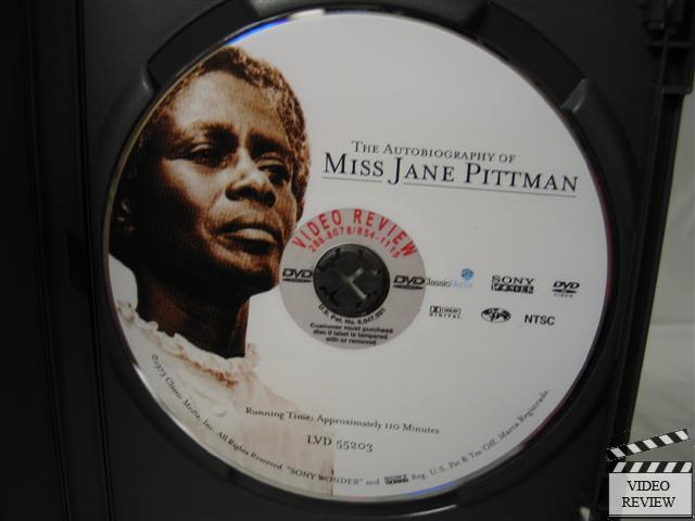 miss jane pittman Free college essay the autobiography of miss jane pittman the autobiography of miss jane pittman begins with a note from the editor, who is.