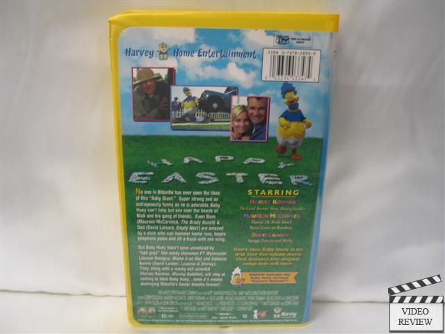 Baby Huey S Great Easter Adventure Vhs Clamshell Pv Ebay