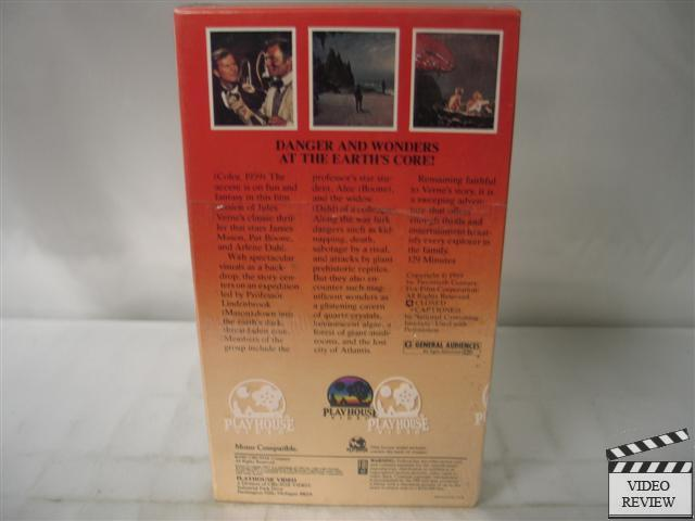journey to the center of the earth 1959. Journey To The Center of The Earth (1959) VHS NEW | eBay