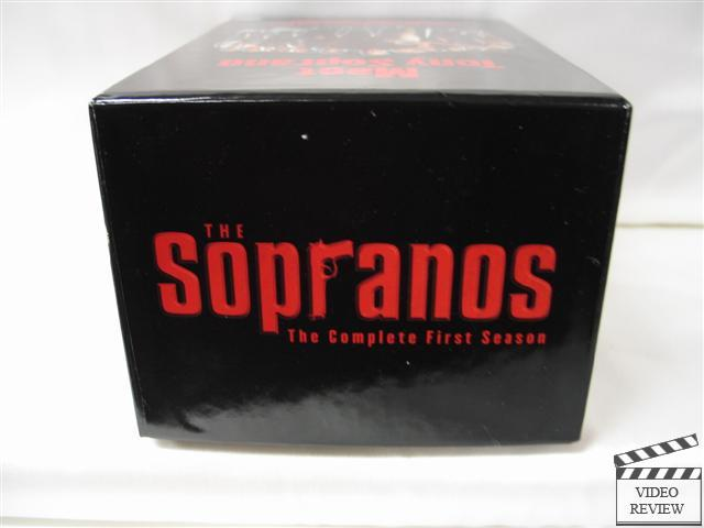 The Sopranos The Complete First Season Vhs Set W Box