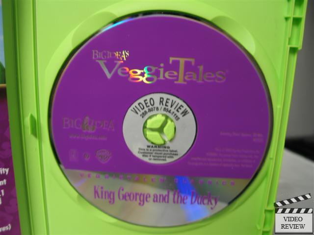 Veggietales King George And The Ducky Dvd 820413101398