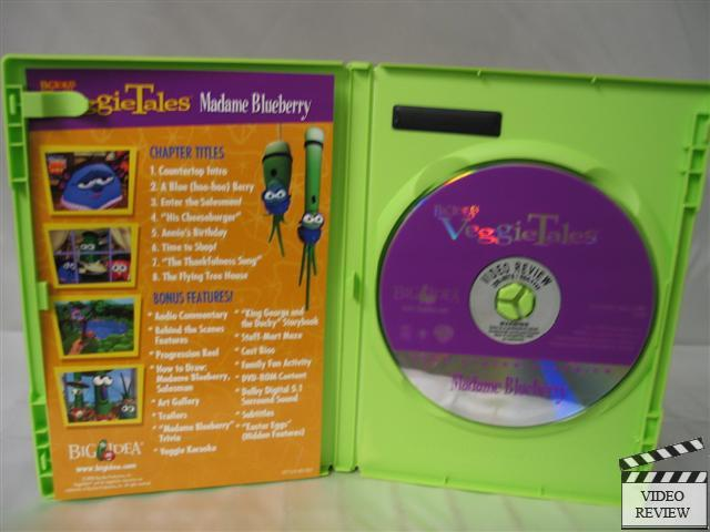 Veggietales Madame Blueberry Dvd 794051712424 Ebay