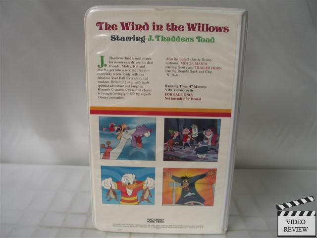 The Wind In The Willows Disney The Wind in The...