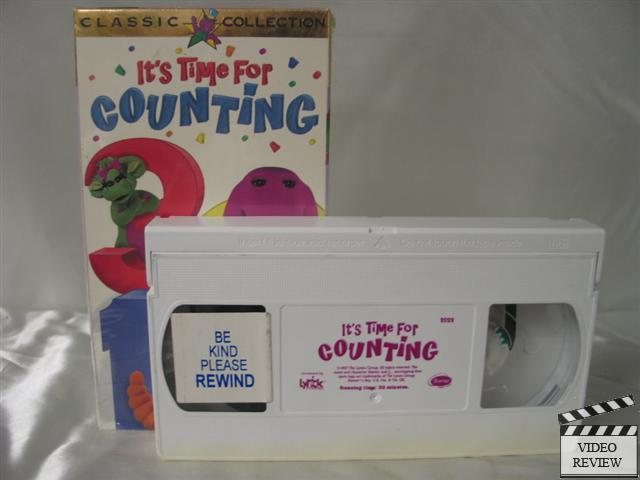 Barney: It's Time for Counting movie