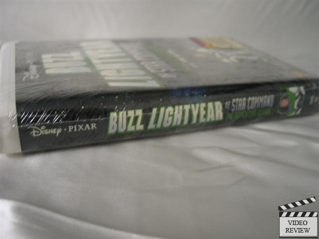 Buzz Lightyear Star Command Vhs New Factory Sealed Tim