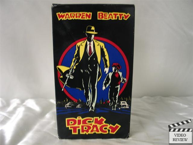 Dick Tracy VHS Warren Beatty, Al Pacino, Madonna | eBay