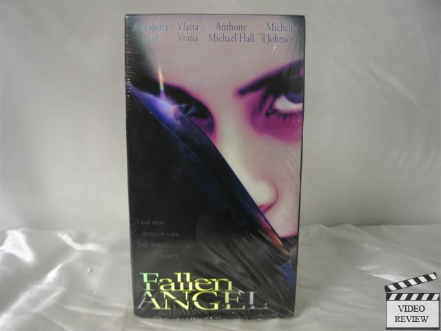 Fallen Angel VHS Alexandra Paul Anthony Michael Hall 057373144596