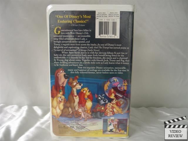 Lady And The Tramp 1998 Vhs Pictures to Pin on Pinterest ...
