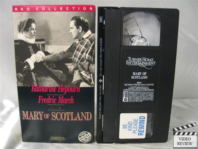 Mary Of Scotland Vhs Katharine Hepburn Fredric March
