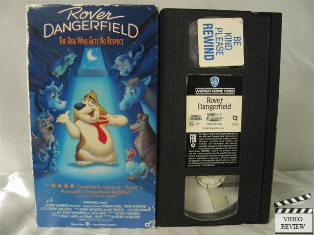 Rover Dangerfield Vhs Rodney Dangerfield 85391222132 Ebay