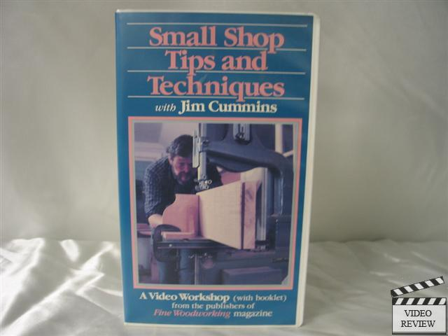 Details about Small Shop Tips and Techniques VHS Fine Woodworking