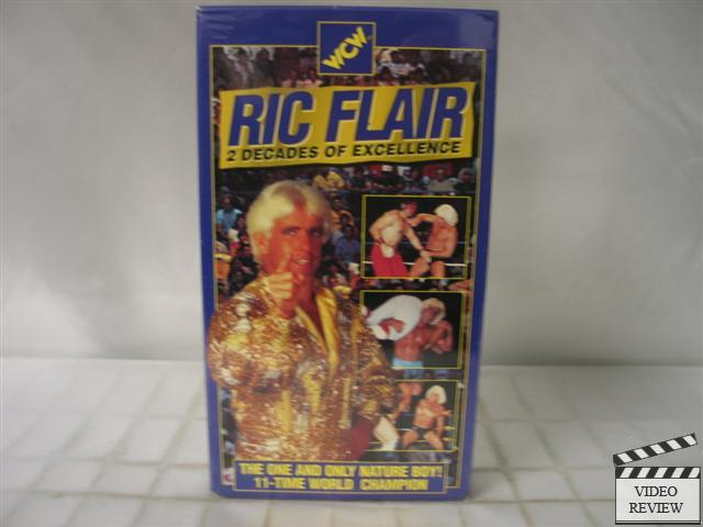 WCW Ric Flair: 2 Decades Of Excellence VHS 53939706536